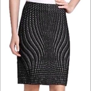 DVF Mae Stretch Skirt